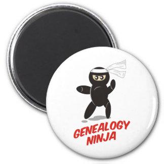 Genealogía Ninja Imán Redondo 5 Cm