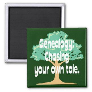 Genealogía: Persecución de su propio cuento Imán De Nevera