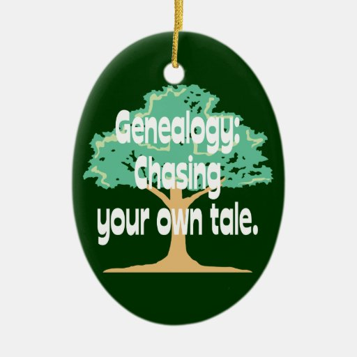 Genealogía: Persecución de su propio ornamento del