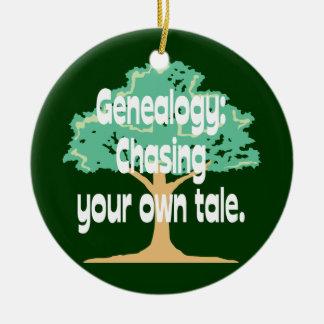 Genealogía: Persecución de su propio ornamento del Ornaments Para Arbol De Navidad
