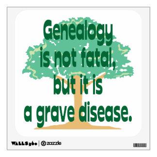 Genealogía - una enfermedad grave