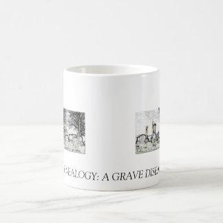 GENEALOGÍA:  UNA ENFERMEDAD GRAVE TAZA DE CAFÉ