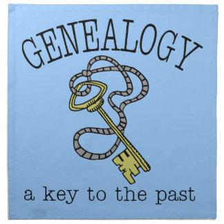 Genealogía una llave al pasado servilletas