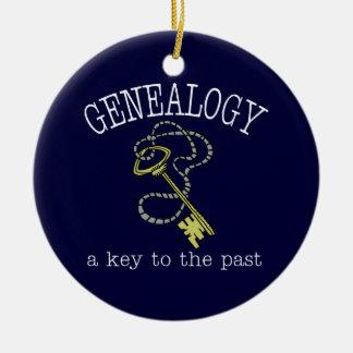 Genealogía una llave al último ornamento adorno