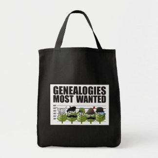 Genealogías más deseadas bolsa tela para la compra