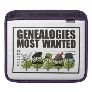 Genealogías más deseadas fundas para iPads