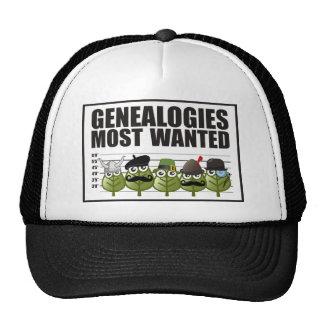 Genealogías más deseadas gorras de camionero
