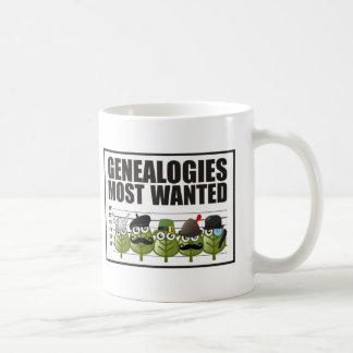 Genealogías más deseadas taza básica blanca