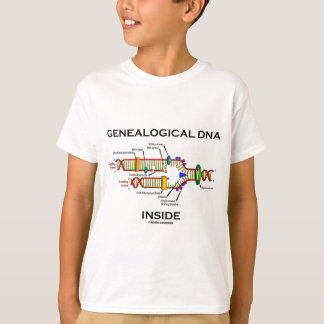 Genealogical DNA Inside (DNA Replication) T-Shirt