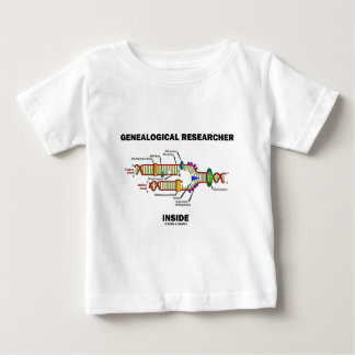 Genealogical Researcher Inside (DNA Replication) Baby T-Shirt