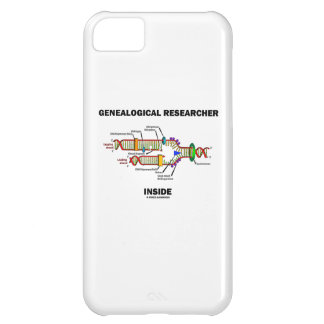 Genealogical Researcher Inside (DNA Replication) iPhone 5C Cases