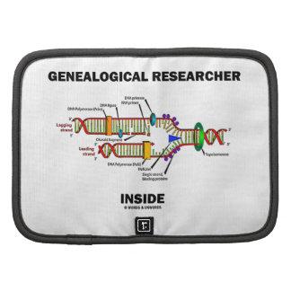 Genealogical Researcher Inside DNA Replication Folio Planner