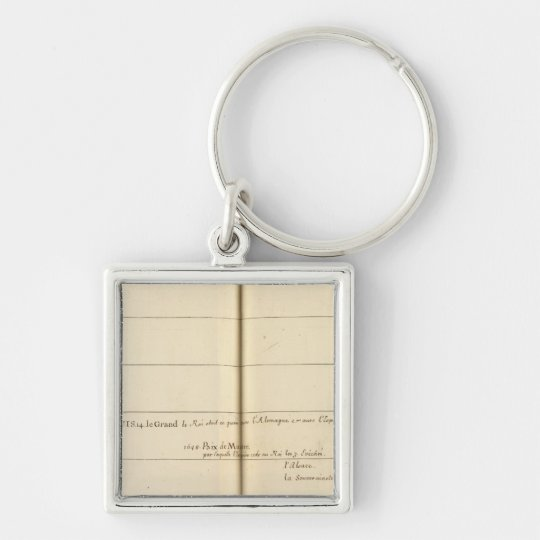 Genealogical Table, France 3 Keychain