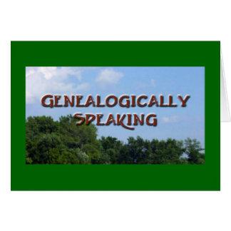 Genealógicamente hablando felicitacion