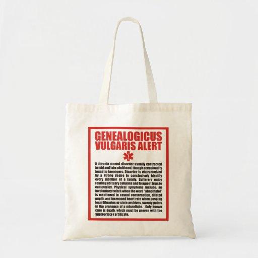 Genealogicus vulgaris bolsa