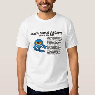 Genealogicus Vulgaris (Genealogy Bug) Shirt