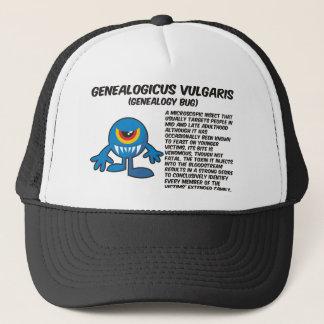 Genealogicus Vulgaris (Genealogy Bug) Trucker Hat