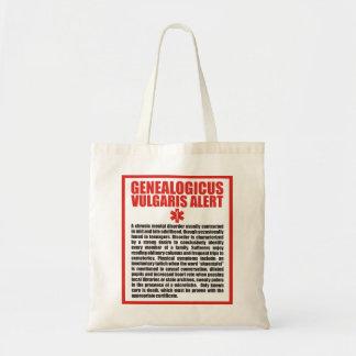 Genealogicus Vulgaris Tote Bag