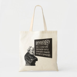 Genealogify Budget Tote Bag