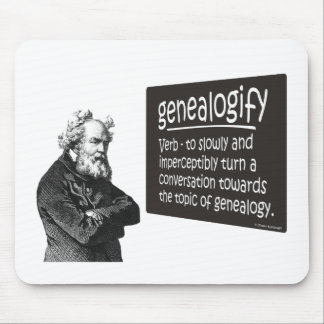 Genealogify Mouse Pad
