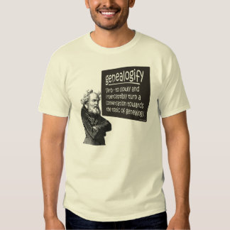 Genealogify T-shirts