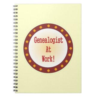 Genealogist At Work Notebook