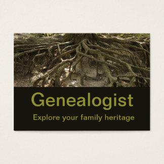 Genealogist Business Card