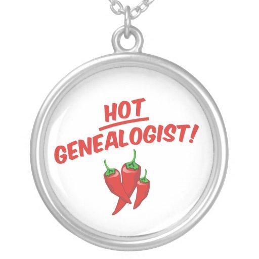 Genealogist caliente pendiente personalizado