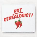 Genealogist caliente tapetes de ratones