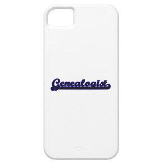 Genealogist Classic Job Design iPhone 5 Case