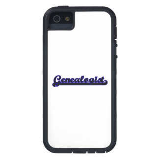 Genealogist Classic Job Design iPhone 5 Cases