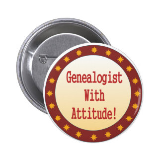 Genealogist con actitud pin