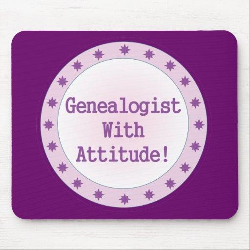 Genealogist con actitud tapete de ratones