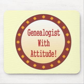 Genealogist con actitud alfombrillas de ratón