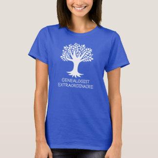 Genealogist Extraordinaire Family History Gift T-Shirt