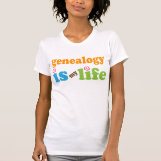 Genealogist Gift Girls Tee Shirt