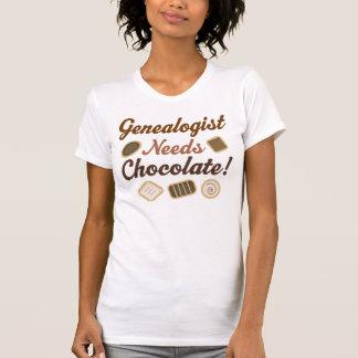 Genealogist Needs Chocolate T Shirts