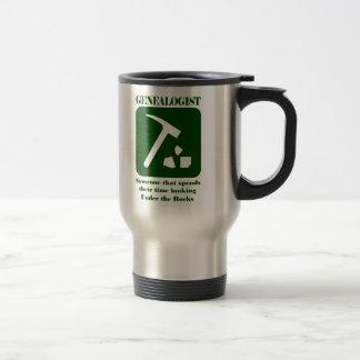 Genealogist Rock Travel Mug