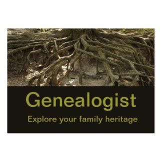 Genealogist Plantillas De Tarjetas De Visita