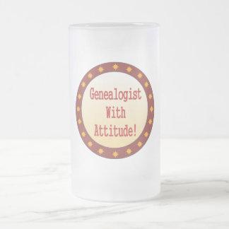 Genealogist With Attitude Coffee Mugs