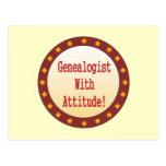 Genealogist With Attitude Postcard