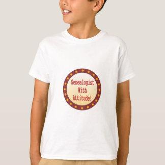 Genealogist With Attitude T-Shirt