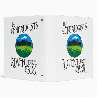 Genealogists Adventure Park 3 Ring Binder
