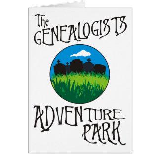 Genealogists Adventure Park Card