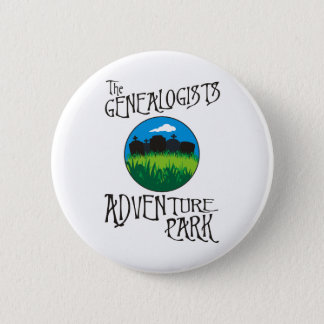 Genealogists Adventure Park Pinback Button