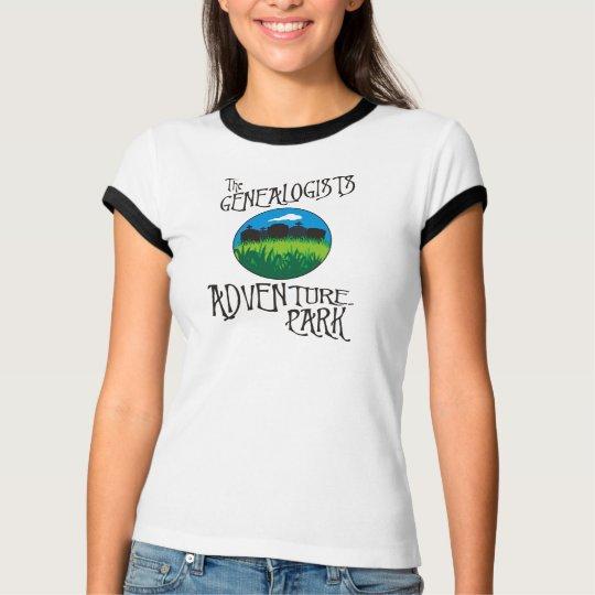 Genealogists Adventure Park T-Shirt