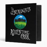 Genealogists Adventure Park Vinyl Binders