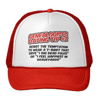 Genealogists Dating Tip #2 Trucker Hat