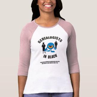 Genealogists In Black Tee Shirts