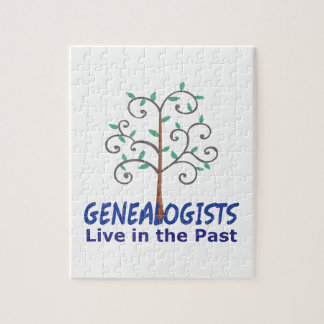 GENEALOGISTS LIVE IN THE PAST PUZZLES